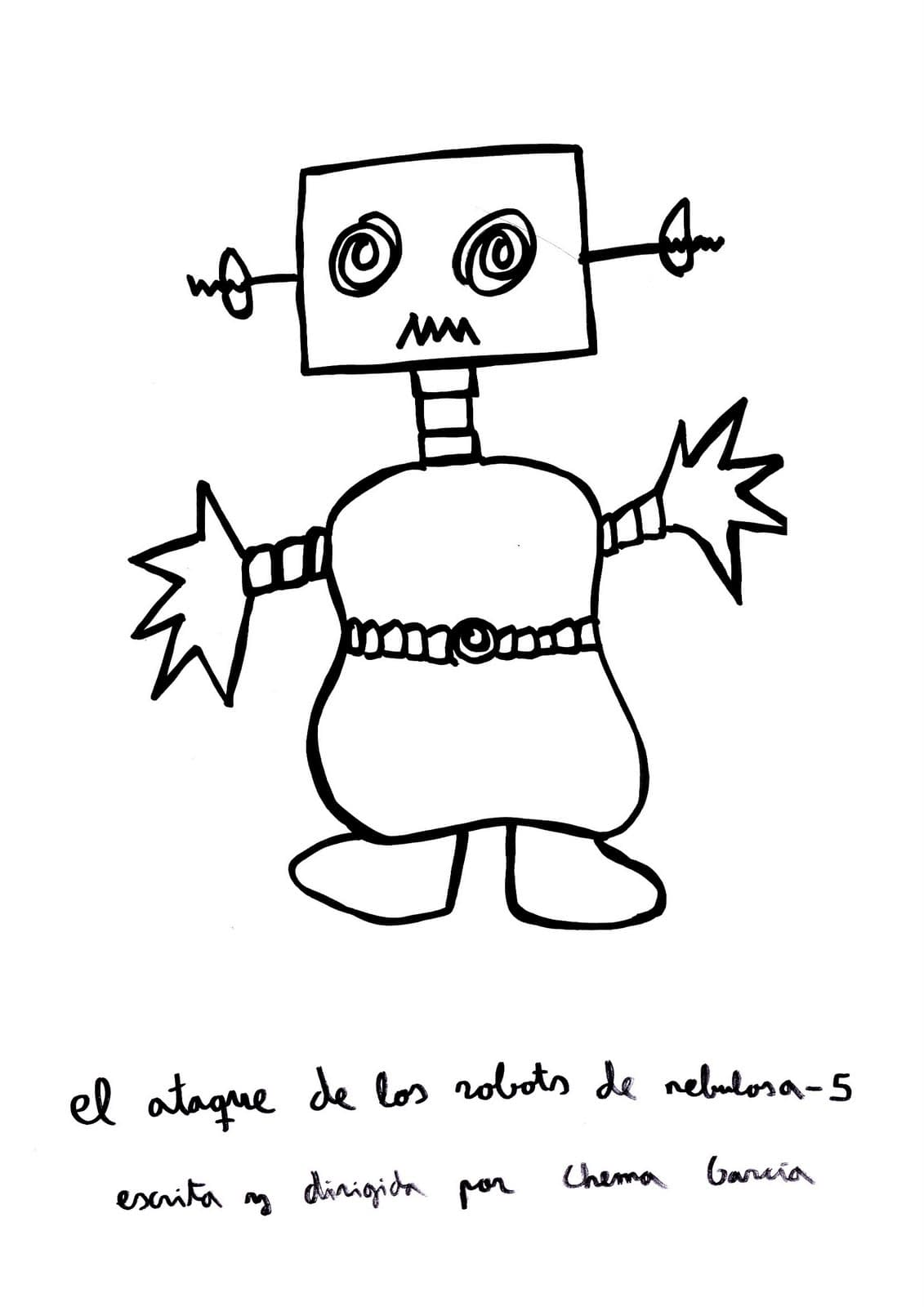 The attack of the Robots from Nebula 5